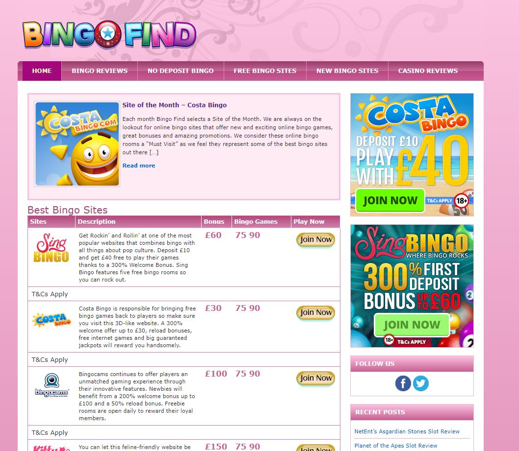 Bingo room online